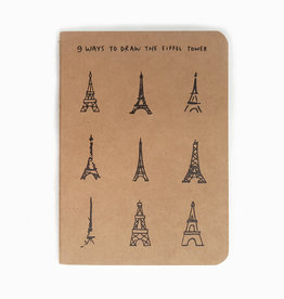 "Notizheft ""Eiffel Tower"" A5"