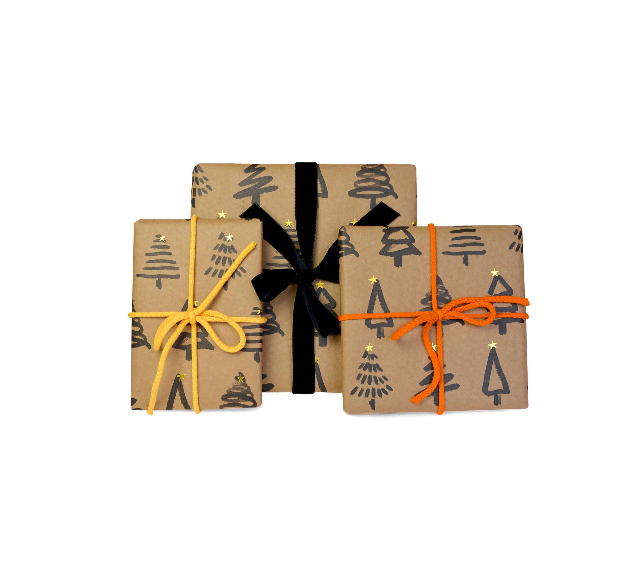 X-Mas-Geschenkpapier (3er Set)