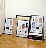 """Magnum """"Forever Classic"""" poster framed (set of 3)"""