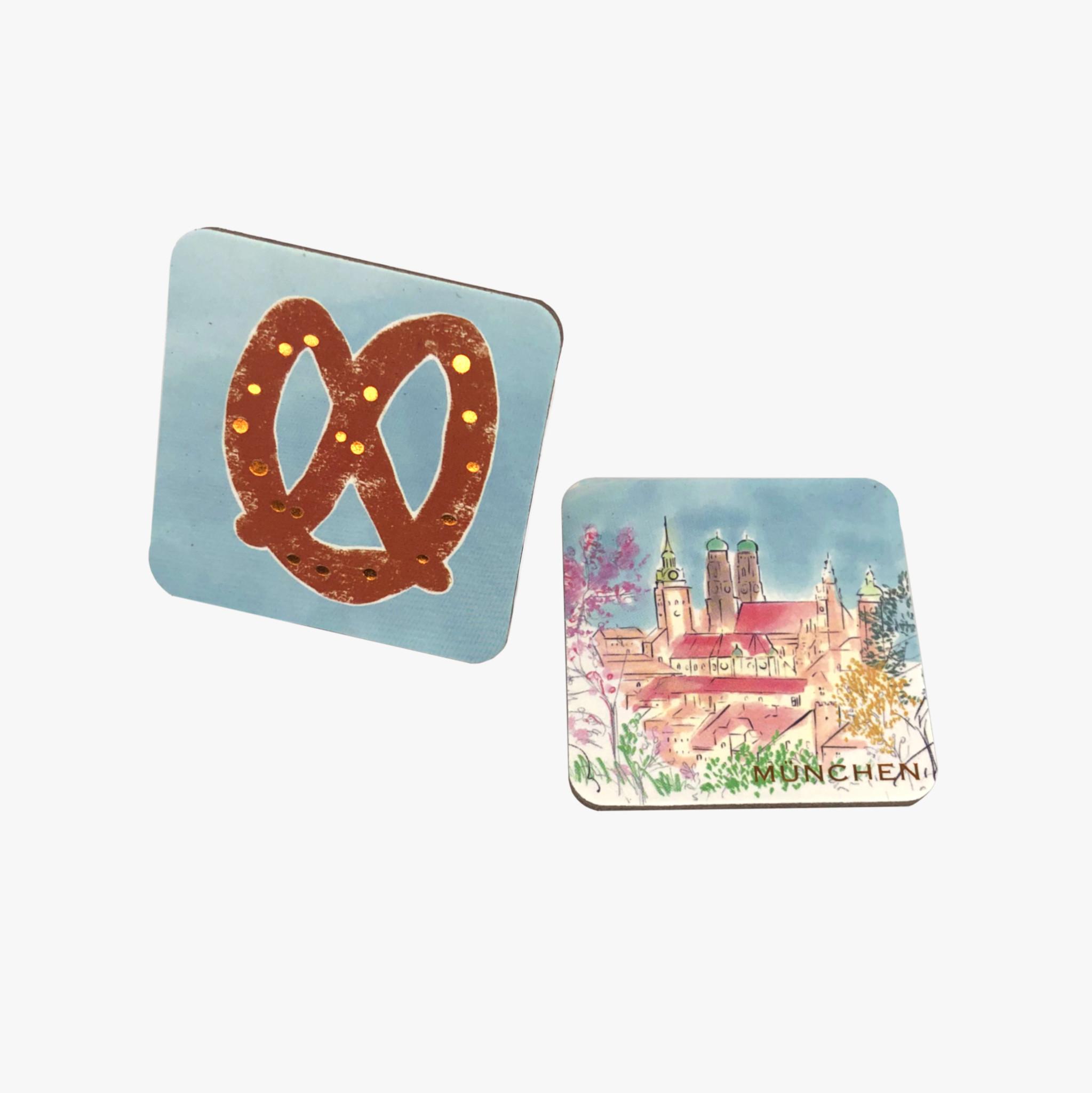 MÜNCHEN Magnet Set