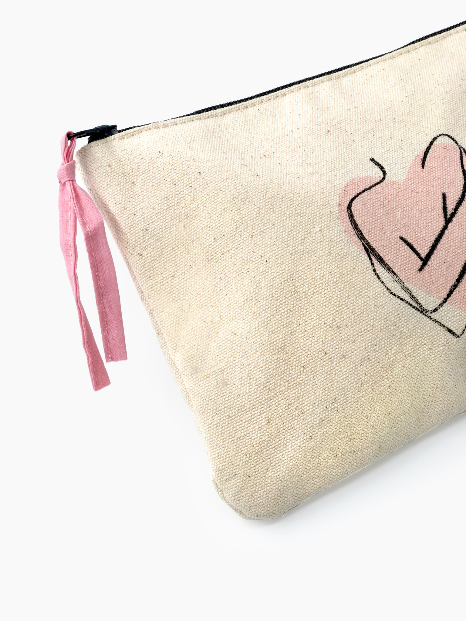 """Canvas pouch """"Selfcare"""""""
