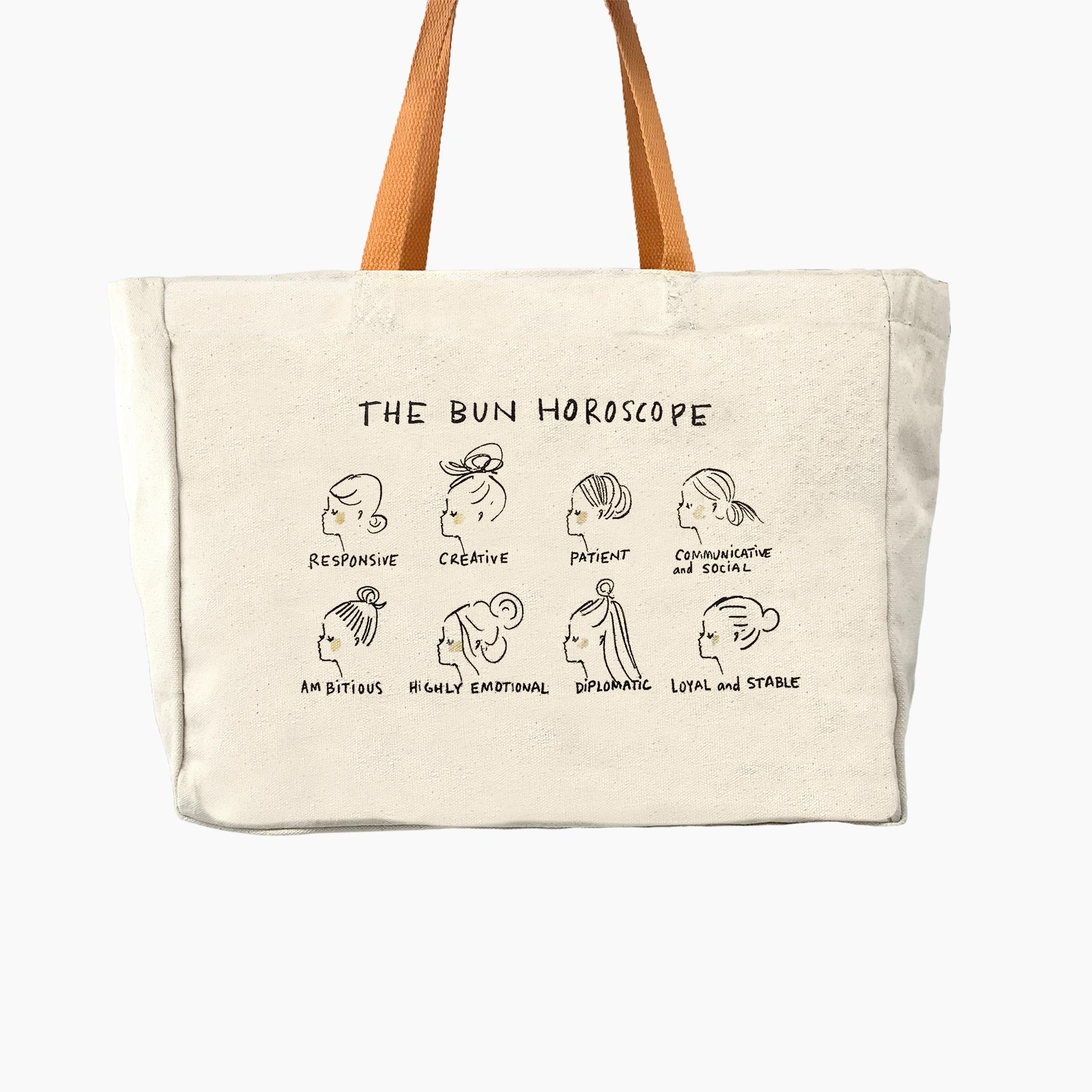 """Canvas Shopper """"Bun Horoscope"""""""