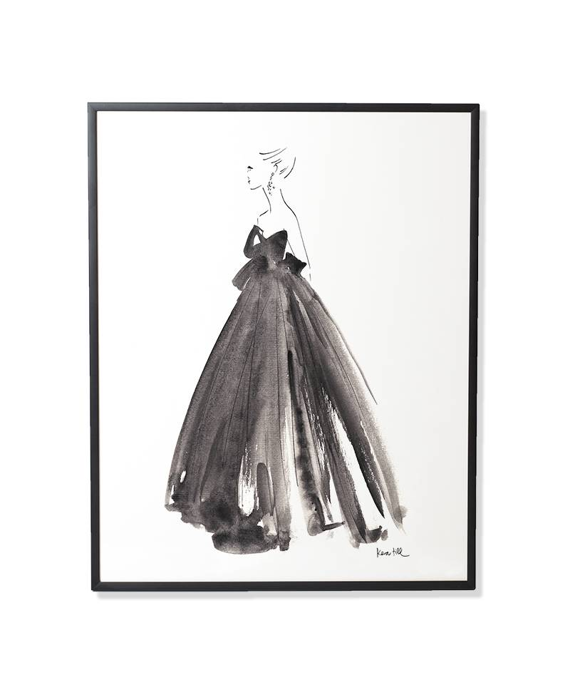 Gown - gerahmt
