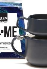 Salt&Pepper Tea for one theeset/ T4ME- indigo