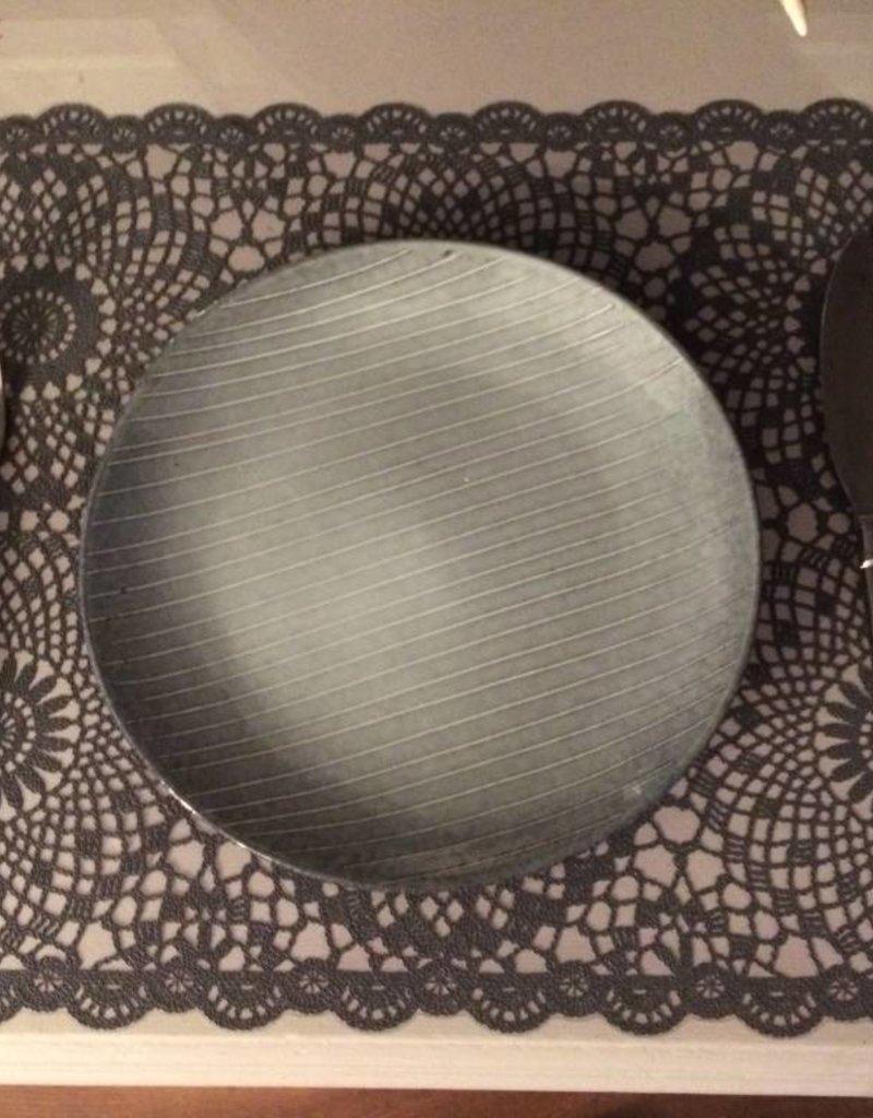 Kersten Placemat donker grijs - set van 4