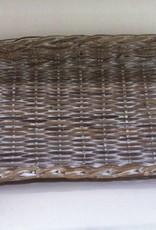 Dienblad riet-wit ingewassen