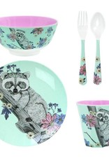 Ginger Forest Dreams melamine set - 5