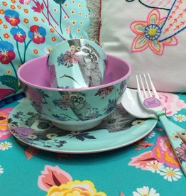 Ginger Forest Dreams melamine set - 5 delig