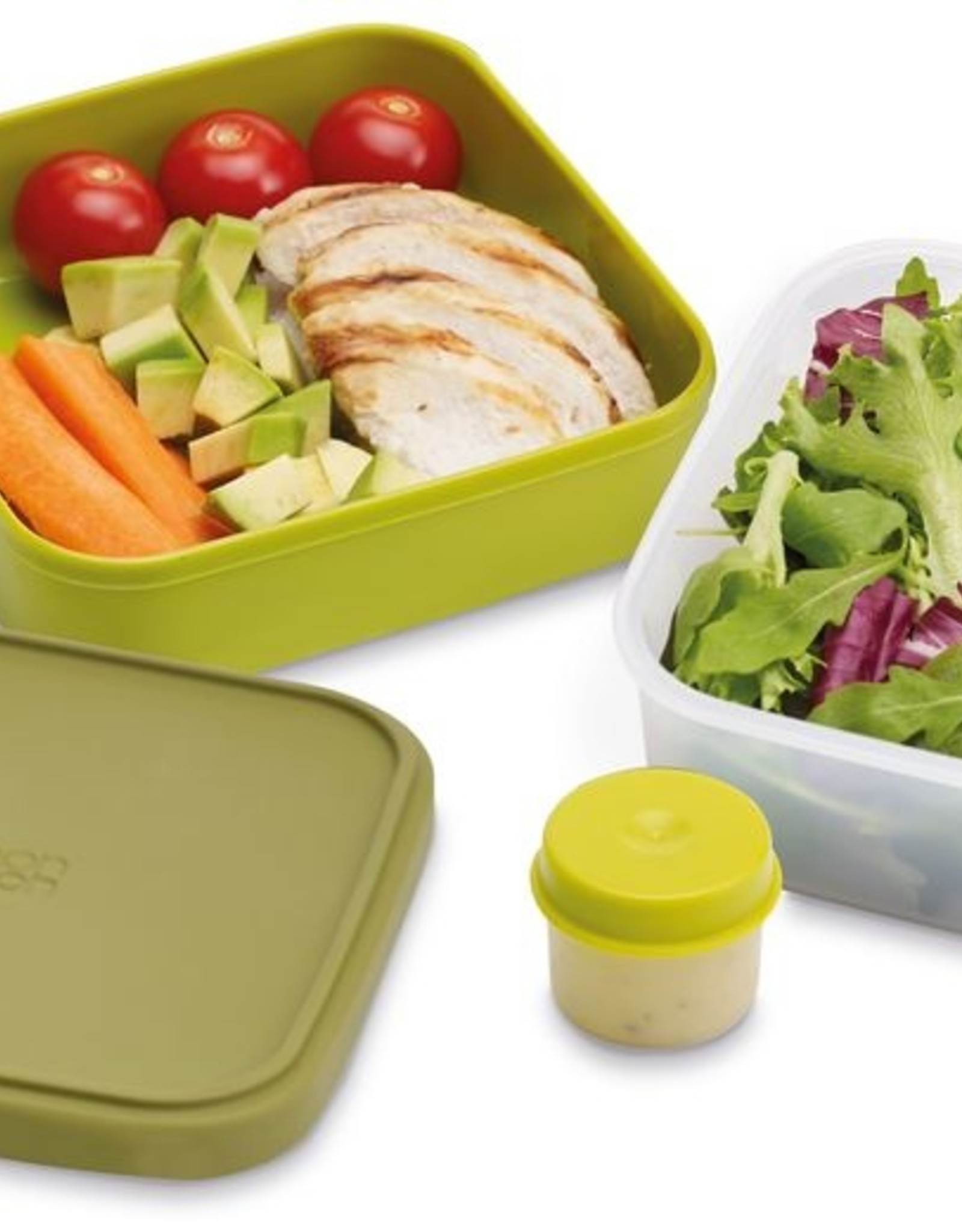 Joseph Joseph Salade/Lunchbox 3 in 1 - groen