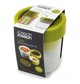 Joseph Joseph Lunch/soep box Go Eat 2 in 1 - groen
