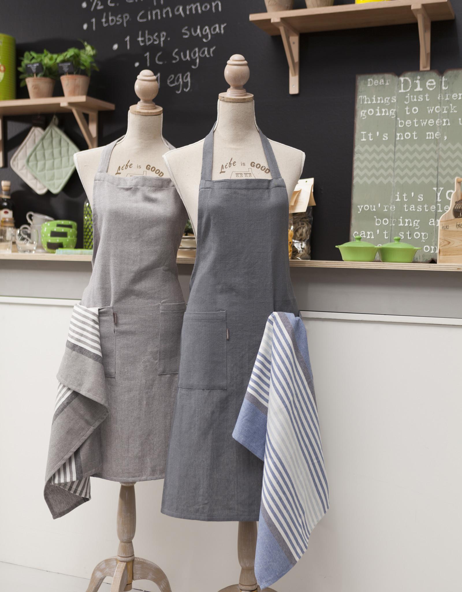 Linen & More Keukenschort-set 5 delig