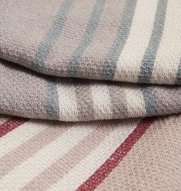 Linen & More Tafellaken multi stripe pink
