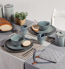Linen & More Tafelkleed Sarah Stonewash set van 7