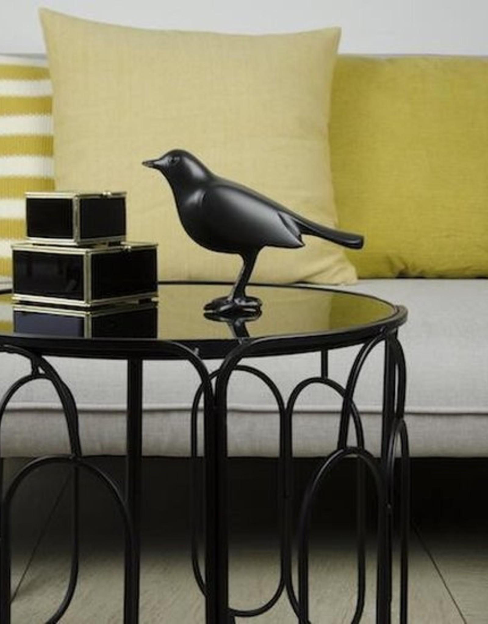 Home Delight Vogel mat zwart