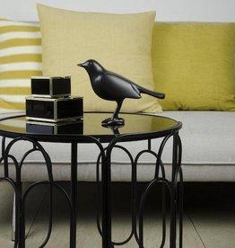 Vogel mat zwart