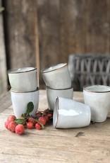 Lavandoux Beker cappuccino set van 6