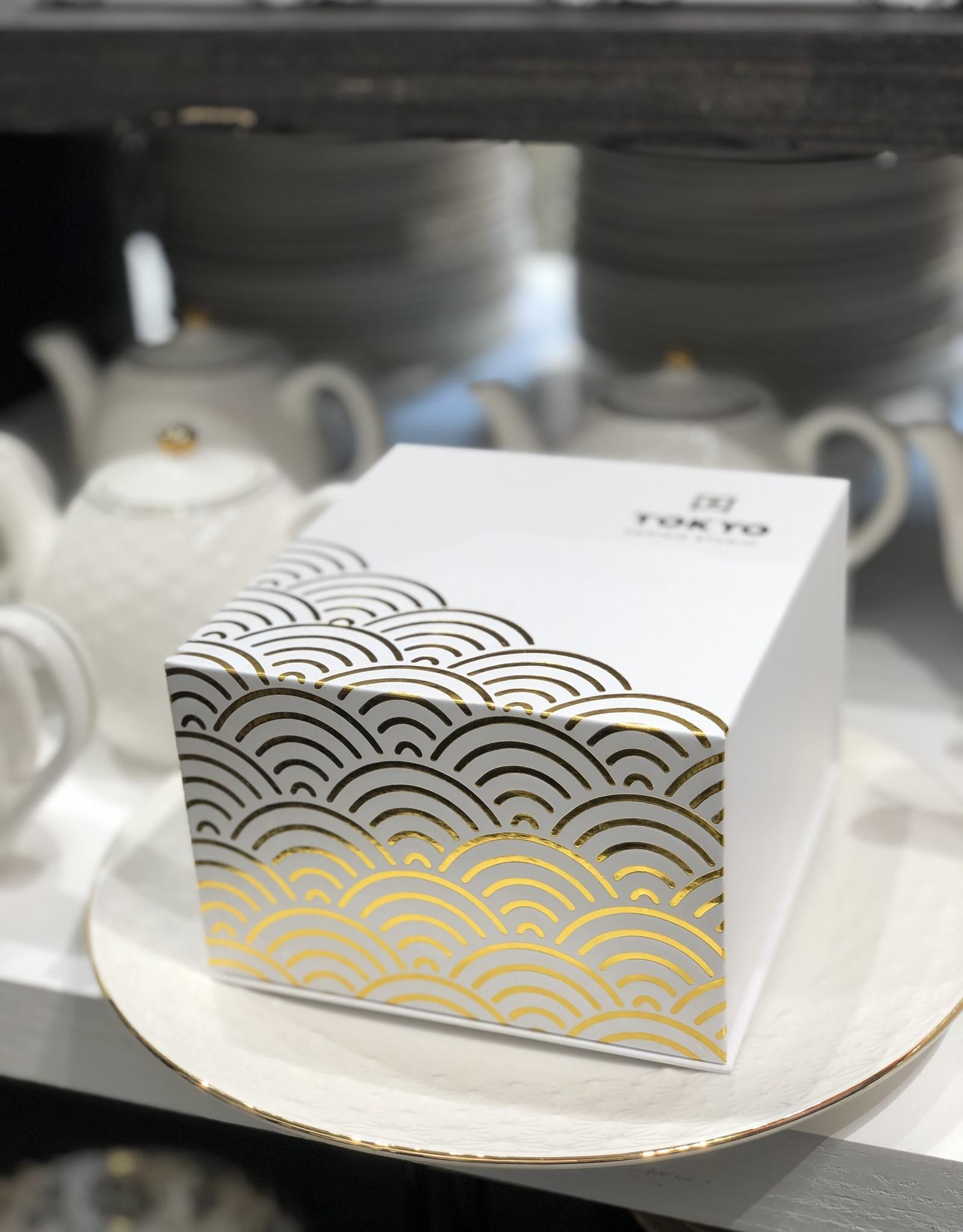 Tokyo Design Studio  Witte theemok set met theezeef