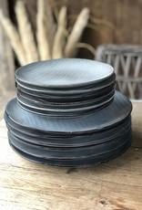 Lavandoux Ontbijtbord stripe set van 6