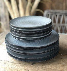 Lavandoux Dinerbord of ontbijtbord stripe