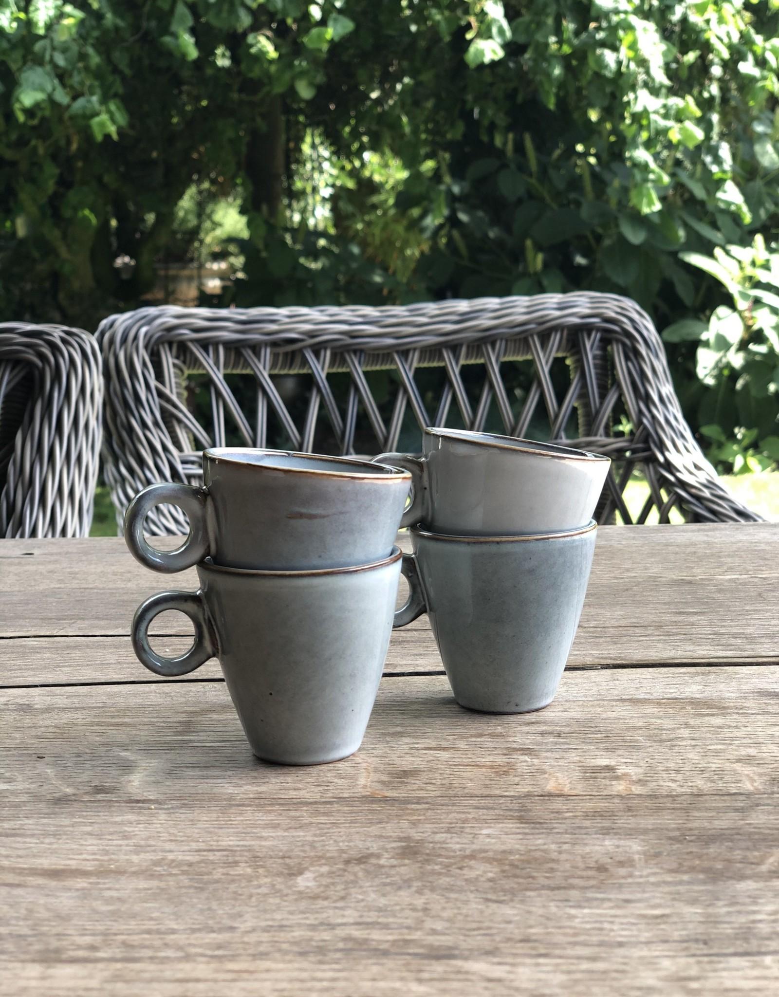 Mica decorations Espresso kopje - set van 4