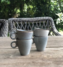 Mica decorations Espresso kopje - set van 4