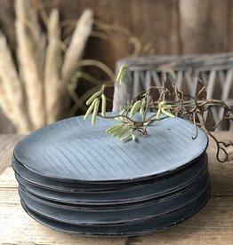 Lavandoux Diner bord  set van 6 stripe
