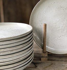 Lavandoux Ontbijtbord set van 6 -grijs