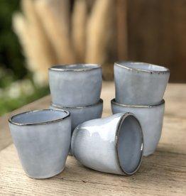 Lavandoux Espresso kopje - set van 6 - blauw