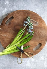 The teak root tray natural S