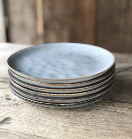 Lavandoux Ontbijtbord set van 8 grijs