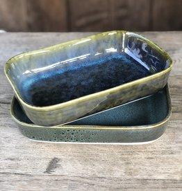 Ovenschaal Stoneware - set van 2
