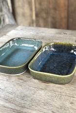 Ovenschaal  Stoneware- set van 2