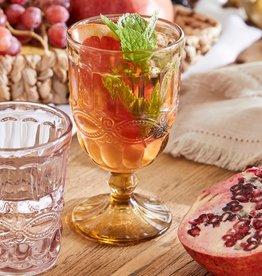 Solagne Rognana Water-of wijn glas  set van 6  - vintage amber
