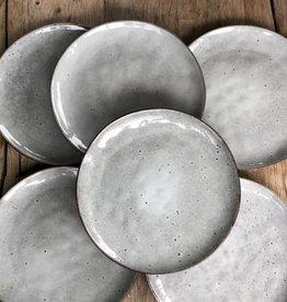 Lavandoux Ontbijtbord set van 8 - grijs