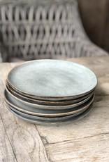 Lavandoux Ontbijtbord set van 6  - groen