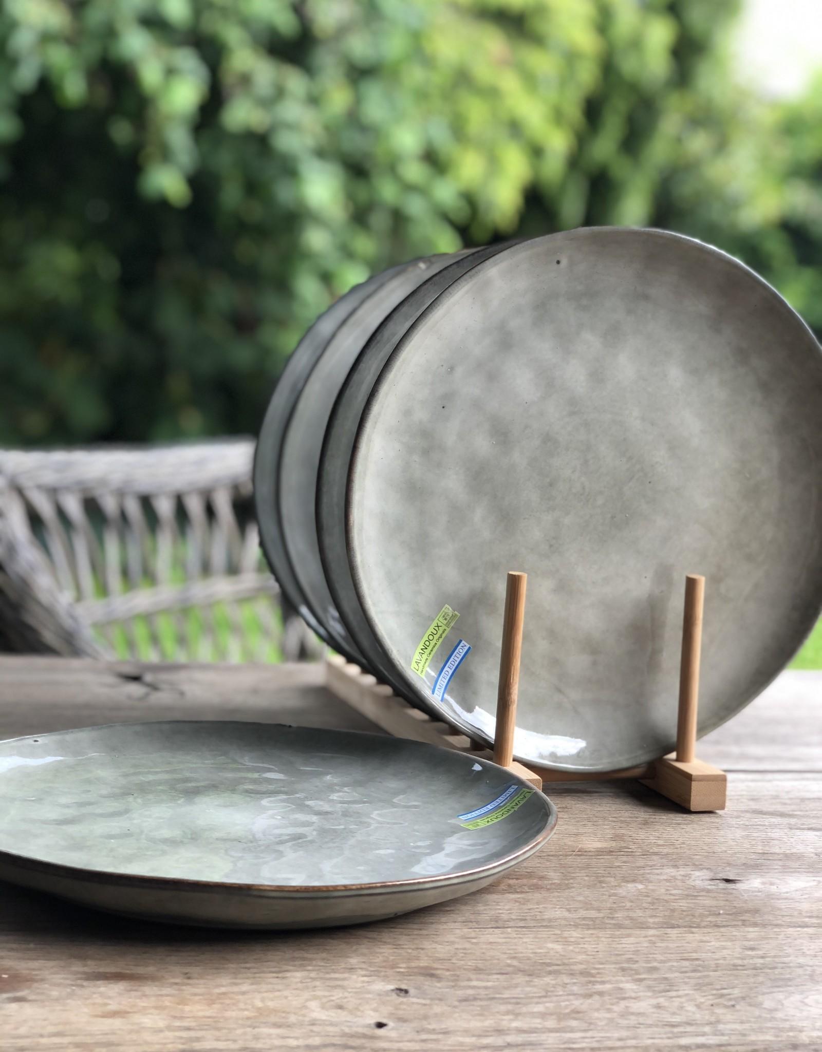 Lavandoux Dinerbord set van 8  - Groen