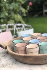 Cappuccino beker -  set van 4