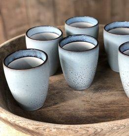Lavandoux Beker set van 6 - blauw