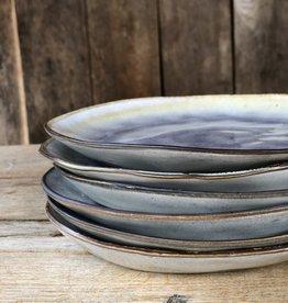 Lavandoux Ontbijtbord set van 6 of 8 - lila
