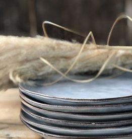 Lavandoux Dinerbord set van 6 blauw