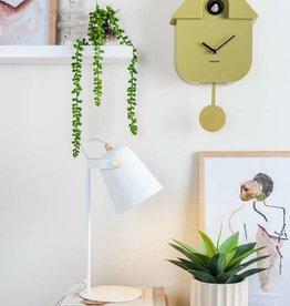 Present time Koekoeksklok olijfgroen