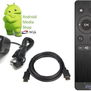 Logiwijk Extra pakket ( Stroom adapter / HDMI kabel / Afstandbediening.