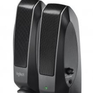 Logitech Logitech S-120 Black 2.0 Speakerset [2.0 CH, 2.3 W, 50 - 20000 Hz, 1.5m]