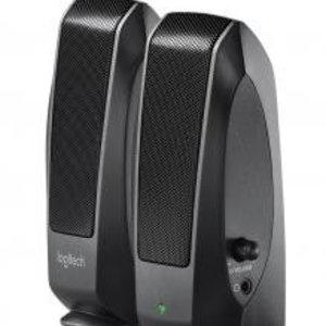 Logitech S-120 Black 2.0 Speakerset [2.0 CH, 2.3 W, 50 - 20000 Hz, 1.5m]