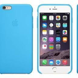 Apple iPhone 6 Plus Silicone Case Blue