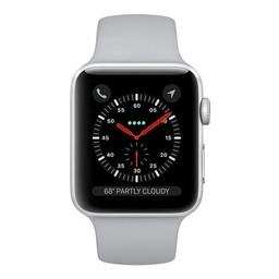 Apple Watch S3 42mm Silver Al Case Fog SpB