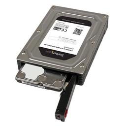 Startech StarTech.com 2,5 naar 3,5 inch aluminium SATA-harde-schijfadapterbehuizing met SSD / HDD-hoogte van max. 12,5 mm