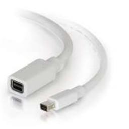 Cables To Go C2G 2.0m Mini DisplayPort M/F 2 m Wit