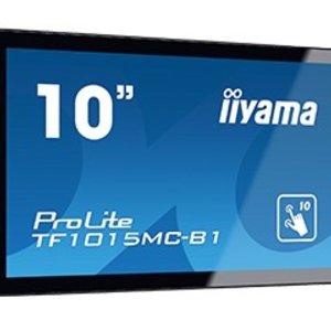 """iiyama iiyama ProLite TF1015MC-B1 touch screen-monitor 25,6 cm (10.1"""") 1280 x 800 Pixels Zwart Multi-touch"""