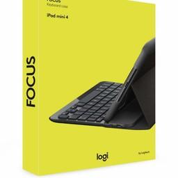 Logitech Logitech Focus toetsenbord voor mobiel apparaat Zwart QWERTY Brits Engels Bluetooth